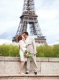 Cerimonia nuziale parigina Fotografia Stock
