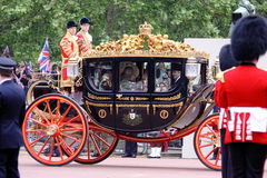 Cerimonia nuziale reale 2011 Immagine Stock