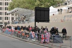 Cerimonia nuziale reale/London/27,04,2011 Immagine Stock Libera da Diritti