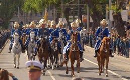 Cerimonia nuziale reale in Svezia immagini stock