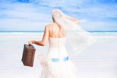 Cerimonia nuziale romantica Immagini Stock