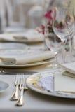 Cerimonia nuziale table03 Fotografia Stock
