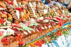 Cerimonia nuziale tradizionale Fotografie Stock