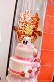 Cerimonia nuziale tradizionale cinese Fotografia Stock Libera da Diritti