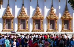 Cerimonia religiosa buddista Fotografie Stock Libere da Diritti