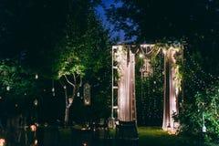 Cerimonie dell'arco di nozze Immagine Stock Libera da Diritti