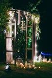 Cerimonie dell'arco di nozze Immagini Stock