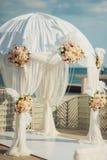 Cerimonie dell'arco di nozze Fotografie Stock