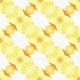 Cerise de feuille de kaléidoscope de batik Images libres de droits