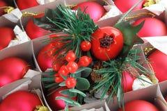 Cerise de Noël Photo libre de droits