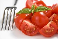Cerise de tomate Photo stock