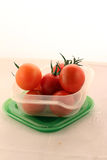 Cerise-tomates Photographie stock