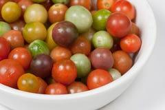Cerise Tomates d'héritage images stock
