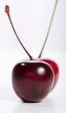 Cerises noires et rouges Photo stock
