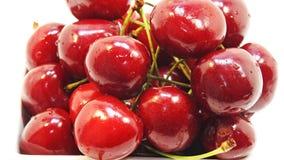 Cerises rouges Image libre de droits