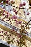 Cerisier fleurissant images stock