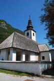 Cerkev SV Pavla, Stara Fuzina Stock Image