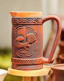 Cerámica de cerámica en Horezu, Rumania Fotos de archivo libres de regalías