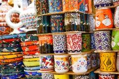 Cerâmica turca Foto de Stock Royalty Free