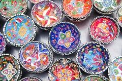 Cerámica turca tradicional Imágenes de archivo libres de regalías