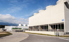 Cern buildings Stock Images