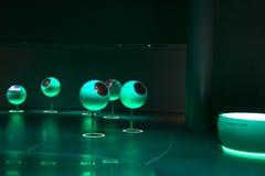Cern, een tentoonstellingsgebouw binnen. Royalty-vrije Stock Foto