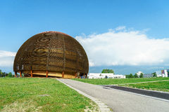 CERN, Geneva. Royalty Free Stock Photo
