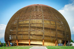 CERN, Ginevra Immagini Stock