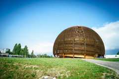 CERN, Ginevra Fotografia Stock Libera da Diritti