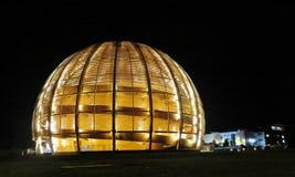 CERN. The Globe of Science and Innovation, Geneva, Switzerland Stock Photos