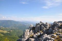 The Mehedinti Mountains, Romania. Cerna Mountains near Hercules Baths, Carpathians, Romania Stock Photography