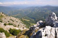 The Mehedinti Mountains, Romania Royalty Free Stock Photography