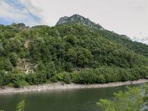 Cerna river. At Prisaca lake Stock Images