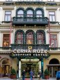Cerna Ruze Shopping Center in Prague Stock Photography