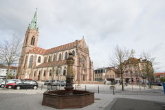 Cernay, Haut-Rhin, France Royalty Free Stock Image