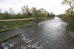 Cernay River Thur, France Stock Photo