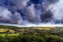Cerne Abbas Dorset Αγγλία στοκ εικόνα με δικαίωμα ελεύθερης χρήσης