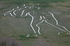 Cerne Abbas Giant Royalty Free Stock Image
