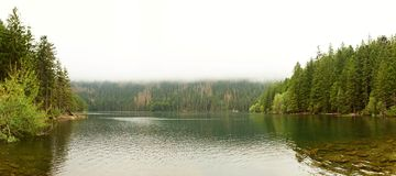 Cerne jezero (Black lake) Stock Image