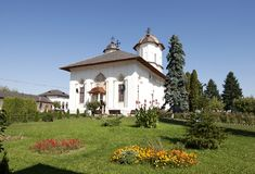 Cernica修道院 免版税图库摄影