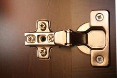 Cerniera della mobilia Fotografie Stock Libere da Diritti