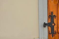Cerniera di porta Immagine Stock Libera da Diritti