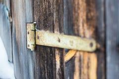 Cerniera di porta Fotografie Stock