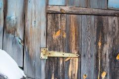 Cerniera di porta Immagini Stock