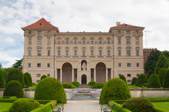 Cernin palace in Prague. Ministry of Foreign affairs Stock Image