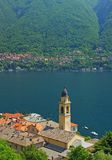 Cernobbio, Beteiligter sehen, See Como, Italien Lizenzfreies Stockfoto