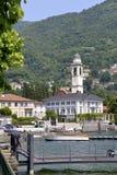 Cernobbio em Itália Fotografia de Stock