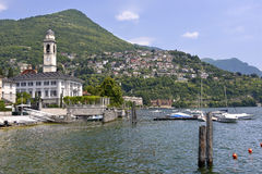 Cernobbio em Itália Foto de Stock