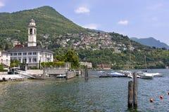 Cernobbio en Italia Foto de archivo