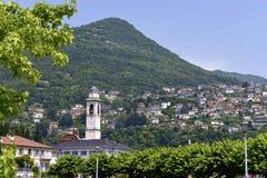 Cernobbio en Italia Foto de archivo libre de regalías